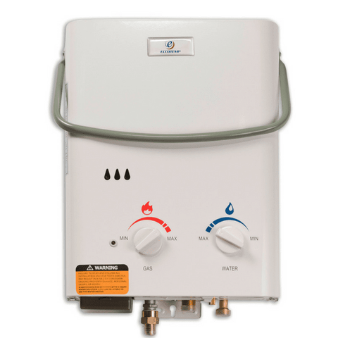 Eccotemp L5 Portable Tankless Water Heater with EccoFlo Pump & Strainer