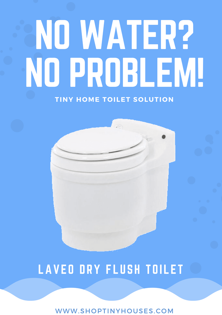 Laveo Dry Flush Waterless Toilet
