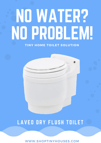 Image of Laveo Dry Flush Waterless Toilet