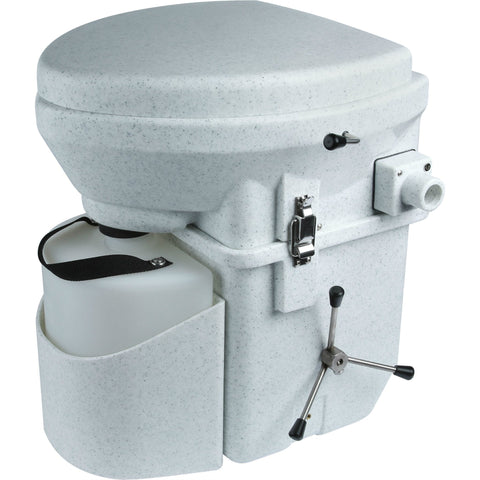 Nature's Head Dry Composting Toilet Front Right View