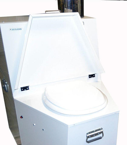 EcoJohn SR12 D Series Waterless Incinerating Toilet