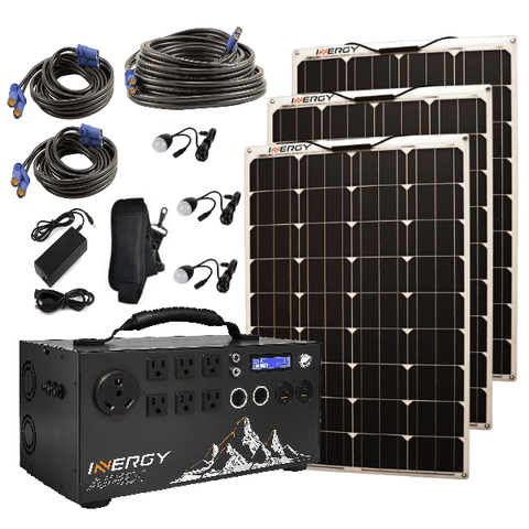 Image of Inergy Apex Solar Generator Portable Super Pack