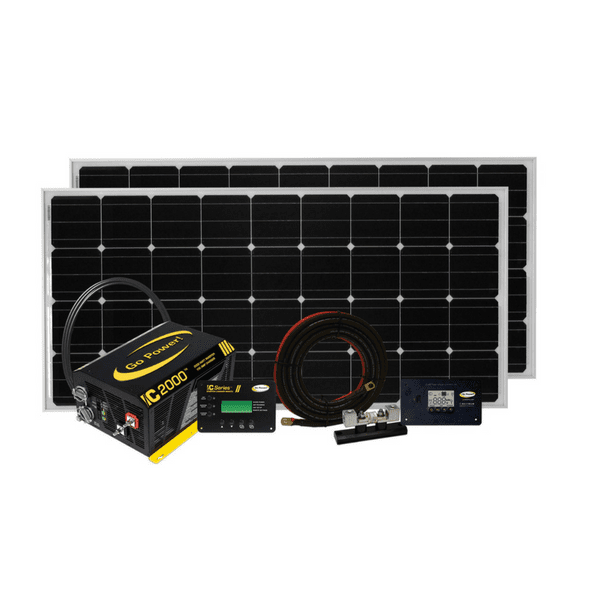 Go Power Solar Elite 340 Watt Kit