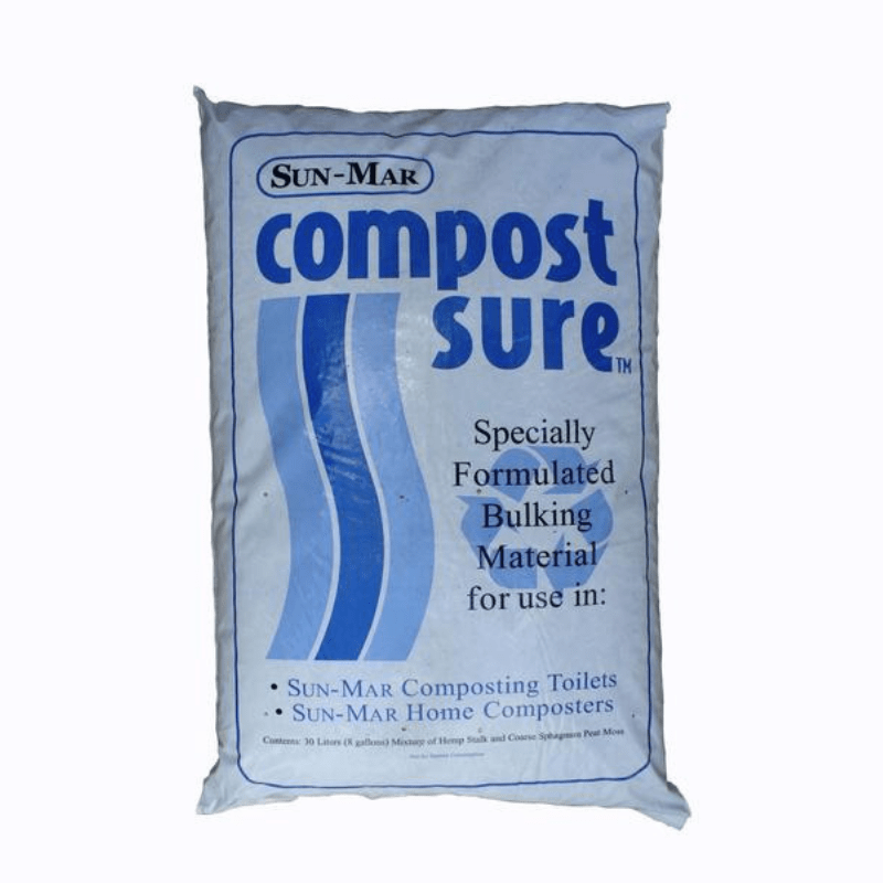 Sun-Mar Sure Blue Bulking Material - Case Of 5 Bags