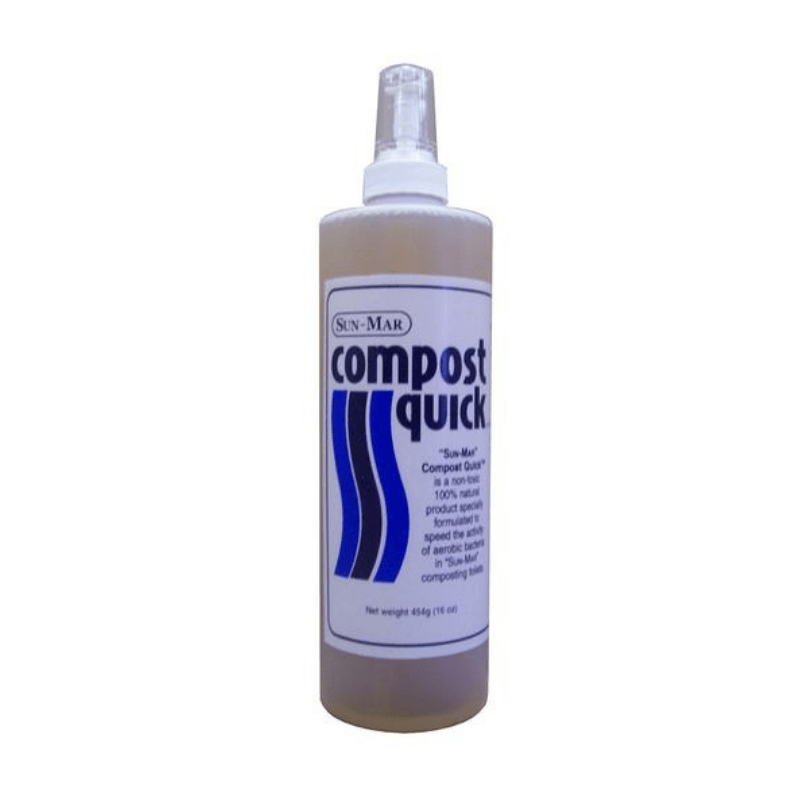 Sun-Mar's Compost Quick Compost Acceleration Enzyme Liquid