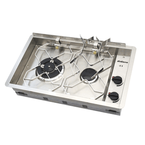 Dickinson Two Burner Propane Drop in Cooktop