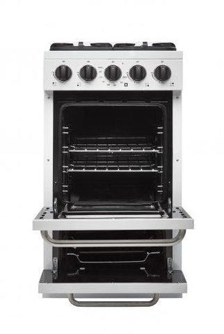 Unique Classic 20 Inch Off-Grid Gas Oven Range Combo