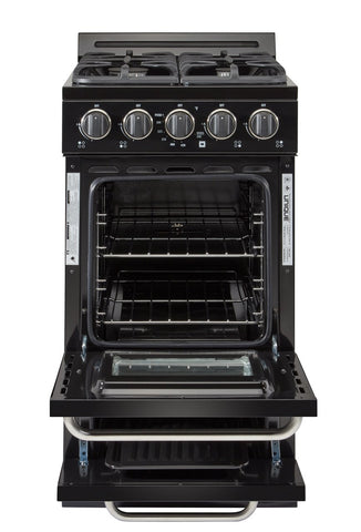 Image of Unique Classic 20 Inch Off-Grid Gas Oven Range Combo