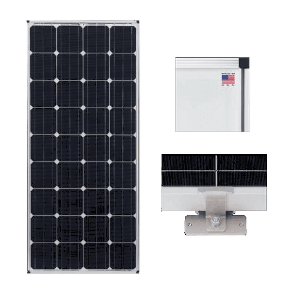 Zamp 170-Watt Deluxe Solar Expansion Kit
