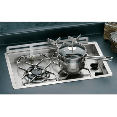 Image of Dickinson Two Burner Propane Drop in Cooktop