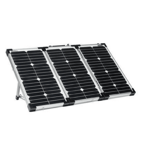 Overland Solar 75 Watt Portable 3 Panel Folding Solar Kit with New SunPower Cells