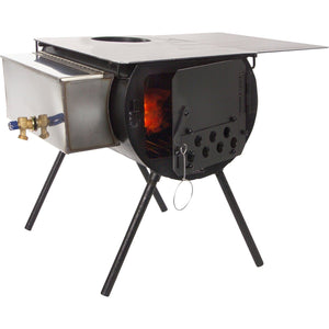 Spruce Cylinder Stove by Colorado Cylinder Stoves