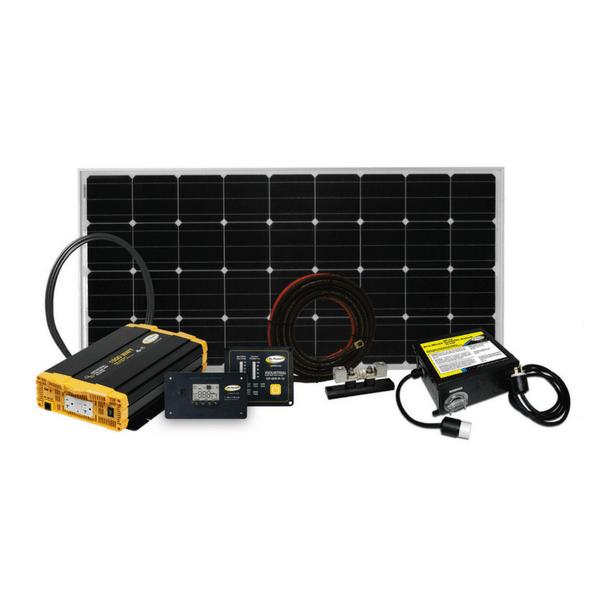 Go Power Solar Weekender Charging 190 Watt Kit