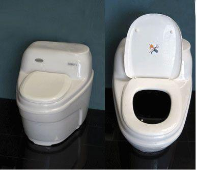 EcoJohn Basic - Self Contained Composting Toilet