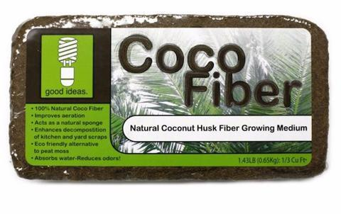 Good Ideas Coco Fiber Composting Material 4 Pack
