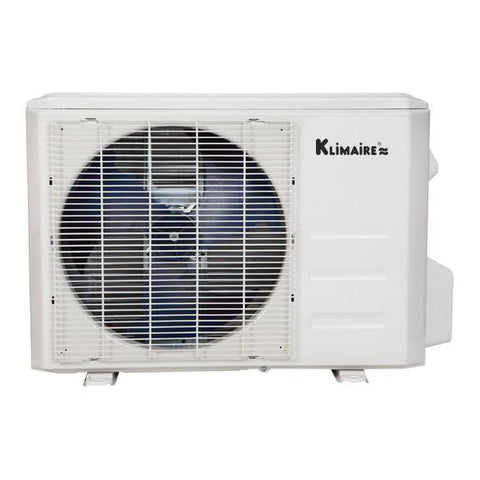 Klimaire 9000 BTU 19 SEER Ductless Mini Split WIFI Ready Full Kit