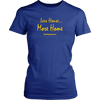 Image of Less House More Home Womens Tiny Home T-Shirt