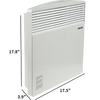 Image of Stiebel Eltron CNS 100 E 240V Wall Mounted Convection Heater