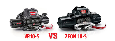 WARN VR Winches vs. WARN ZEON Winches - A Full Comparison