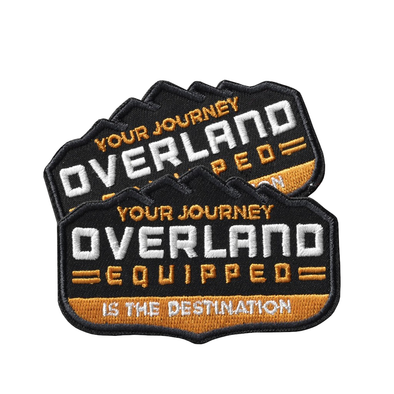 Overland Equipped patch your journey