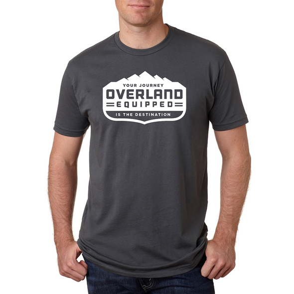Overland Equipped t-shirt grey comfortable