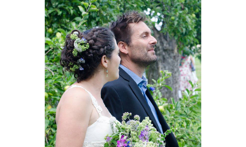 Real Wedding: Ted, Emily & Jane (her eco & ethical wedding dress)