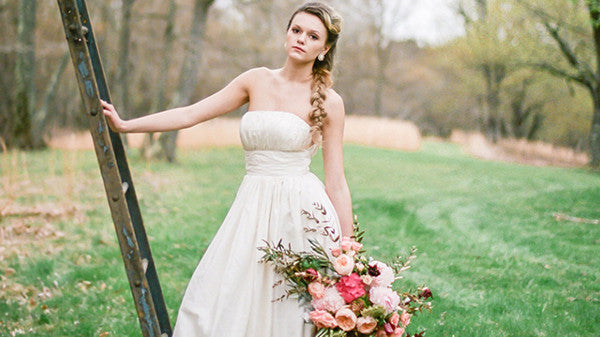 Celia Grace Fair Trade Wedding Dresses Mentioned in Green Wedding Details Inspiration Article
