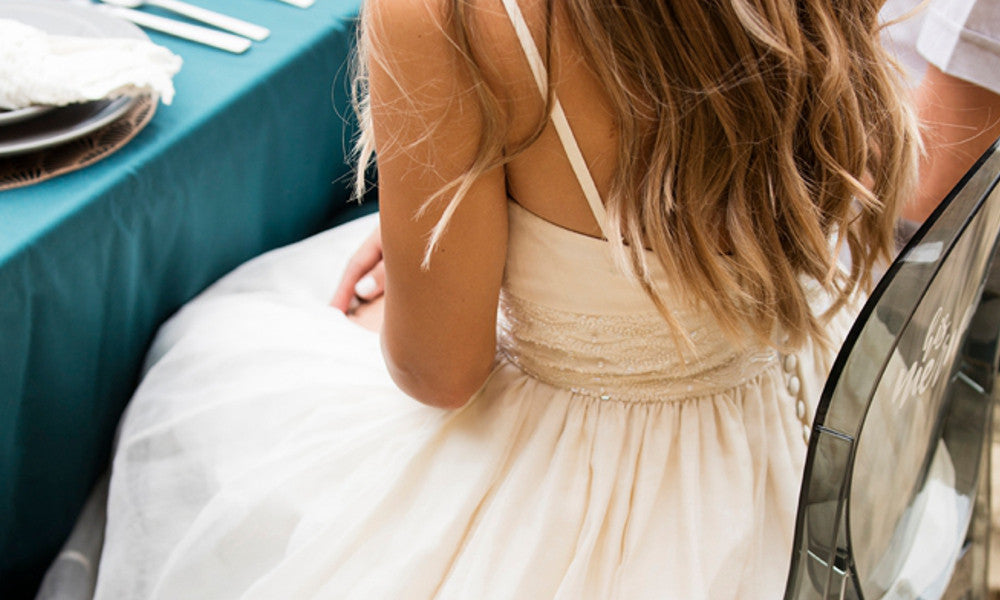 Celia Grace Wedding Dress Worn in Mermaid Inspired Wedding Shoot