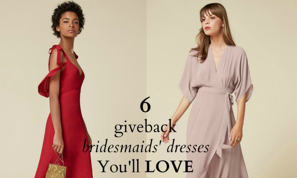 6 GiveBack Bridesmaids' Dresses You'll Love ~ FairTrade, Eco, Ethical, Indie & Made in the USA