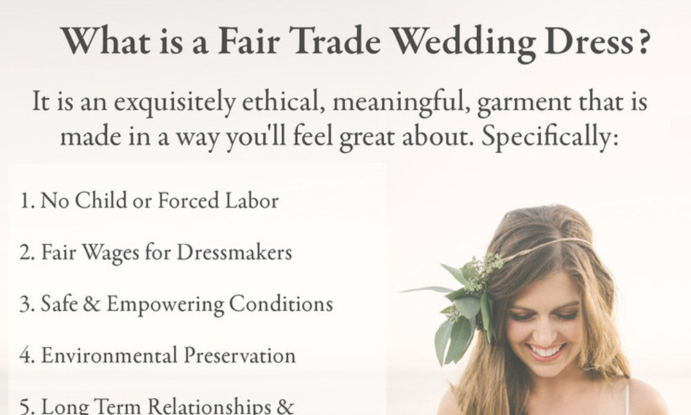 What Fair Trade and what is a Fair Trade Wedding Dress?