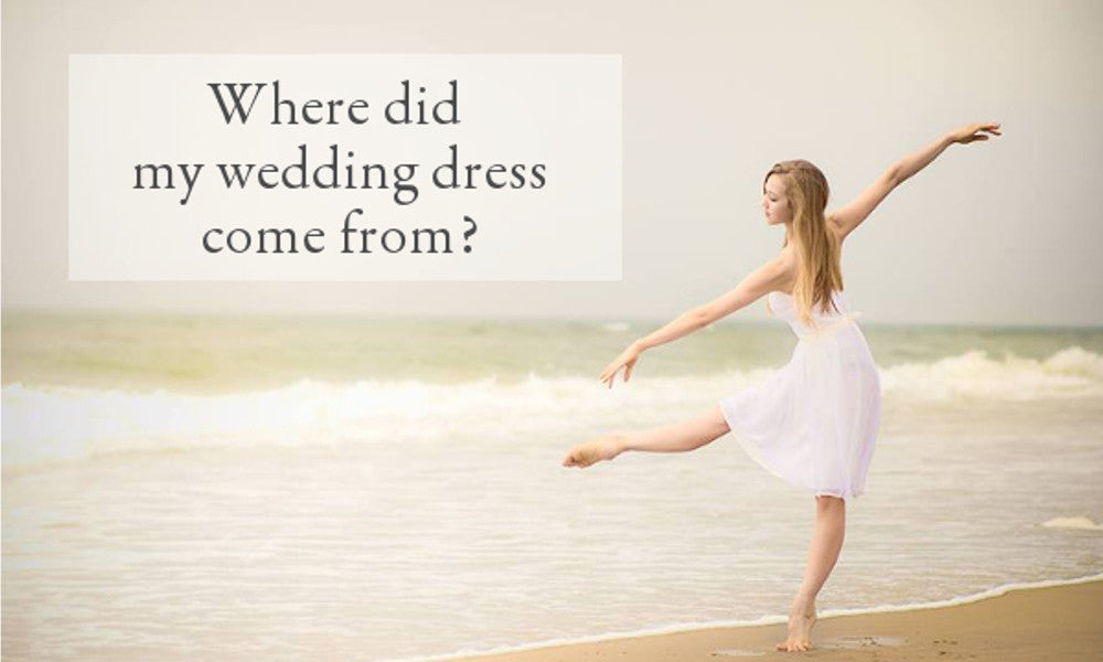 Where does a Celia Grace Ethical Wedding Dress Come From?