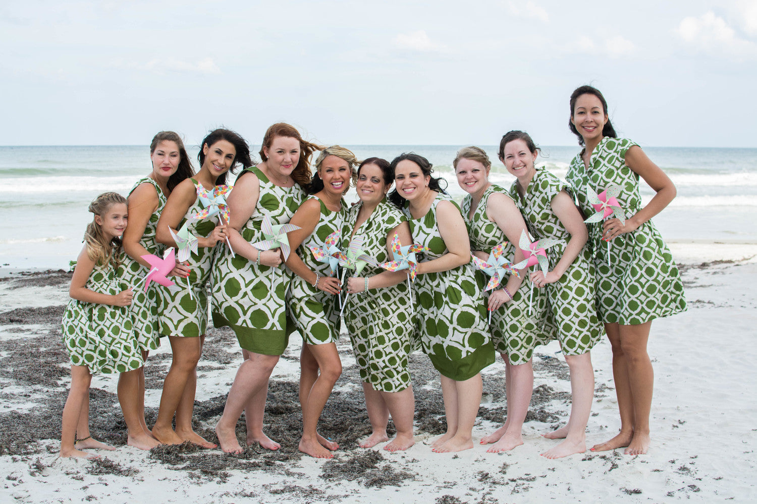Celia Grace Blog Bridal Party Image