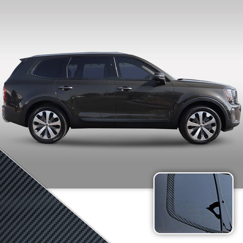 Window Chrome Delete Kit 2020-2021 Kia Telluride