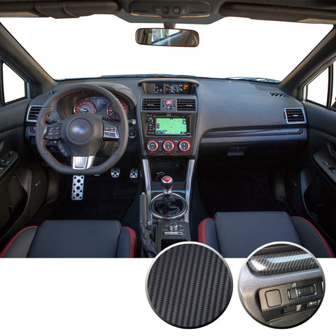 Interior Dash Pinstripe Vinyl Trim Decal Compatible with and Fits WRX STi Subaru 2015-2020