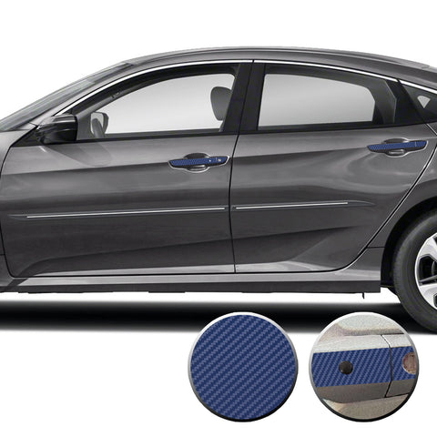 Door Handle Accent Overlay Vinyl Decal Compatible with Honda Civic 2016-2021