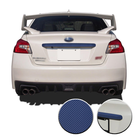 Trunk Trim Overlay Decal Compatible with and Fits Subaru WRX STi Trunk Trim 2015-2020