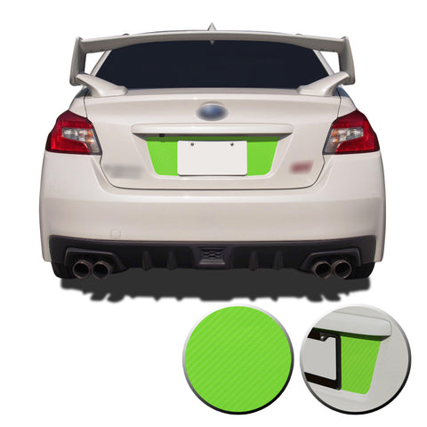 Subaru WRX STI Trunk License 2015-2020