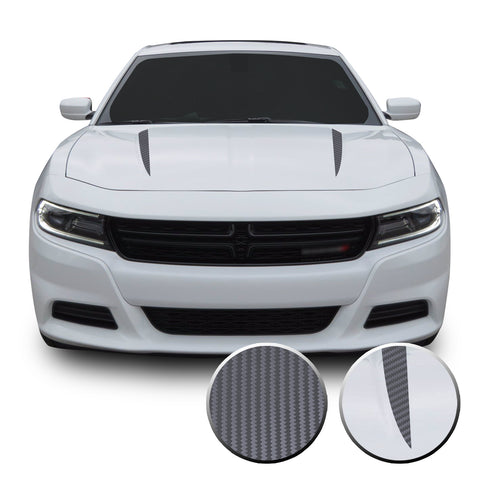 Hood Spears Vinyl Graphic Decal Stripe for Dodge Charger 2015+