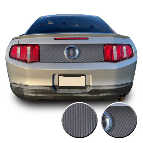 Trunk Rear Decklid Trim Graphic Vinyl Decal Compatible with Ford Mustang 2010-2014