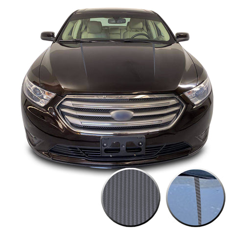 Hood Spear Stripes Racing Trim Vinyl Decal Compatible with Ford Taurus 2010-2019