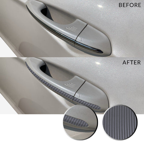 Door Handle Overlay Wrap Vinyl Decal Trim Compatible with and Fits Ford Fusion 2013-2019