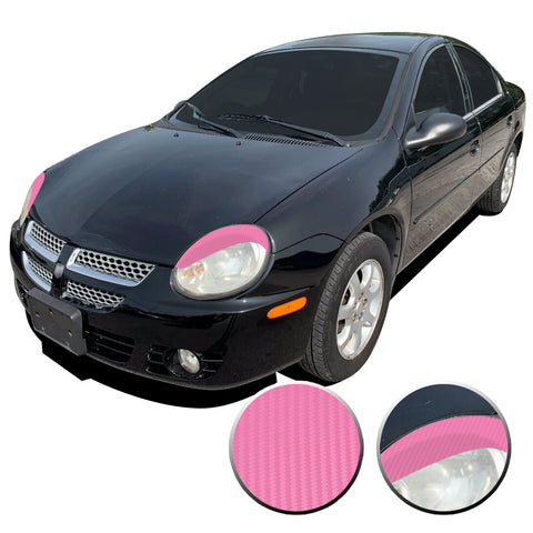 Dodge Neon Headlight Overlays - SRT4 R/T SXT 2003-2005