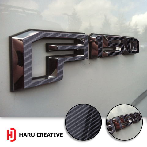 2015-18 Ford F-150 Emblem Decal Overlay Decal Sticker - Haru Creative Decals