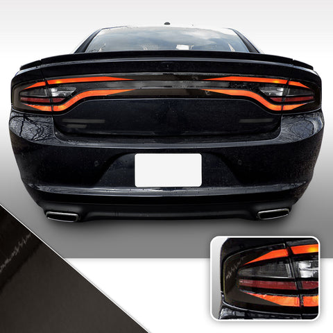 Tail Light Accent Vinyl Wrap Overlay Kit V1 Compatible with Dodge Charger 2015 - 2020
