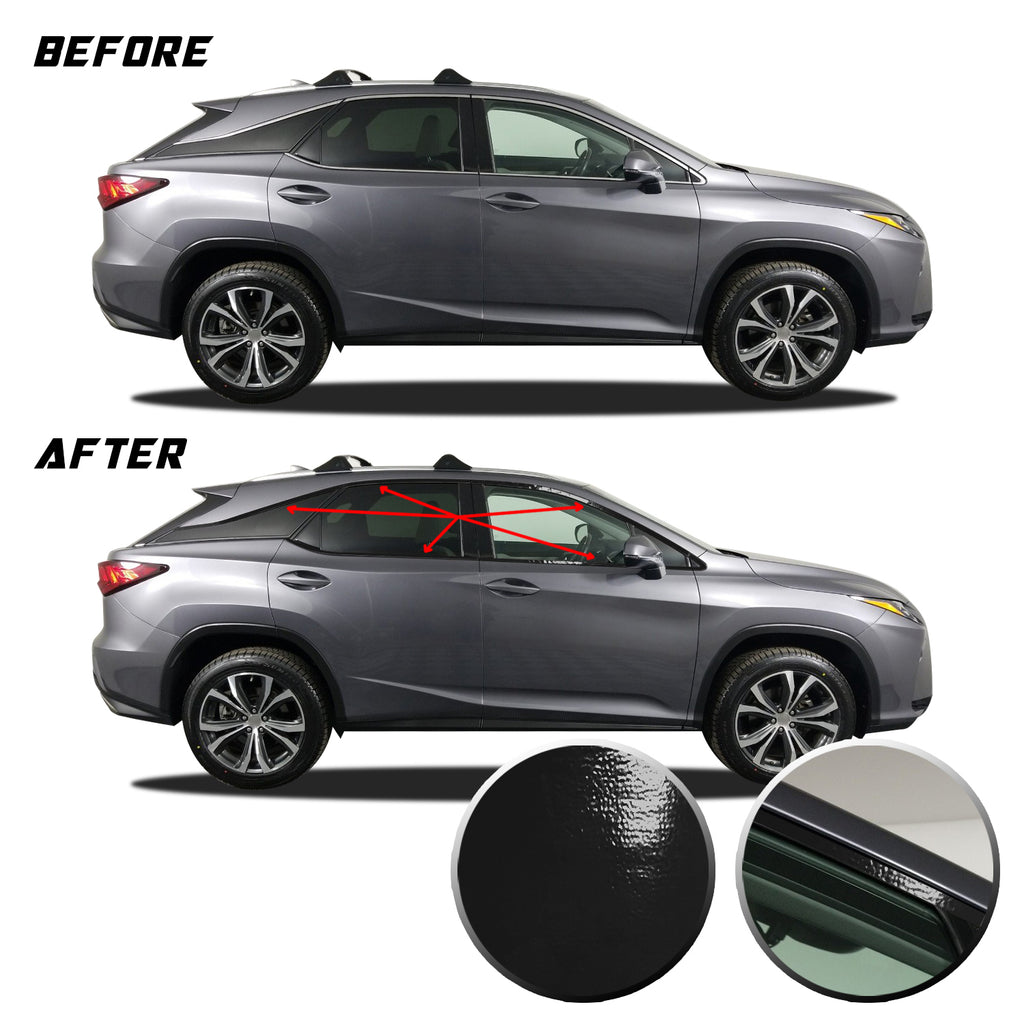 RX350 RX450h Window Chrome Delete 2016-2020