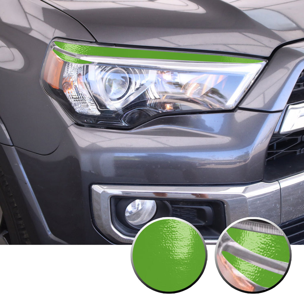 Vinyl Graphics Decal Wrap Kit fits Toyota 4Runner 2010-17 Headlight Cover