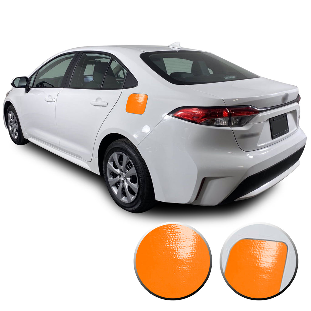 Gas Fuel Door Graphic Overlay Pre Cut Vinyl Decal Compatible with Toyota Corolla 2019 2020 2021