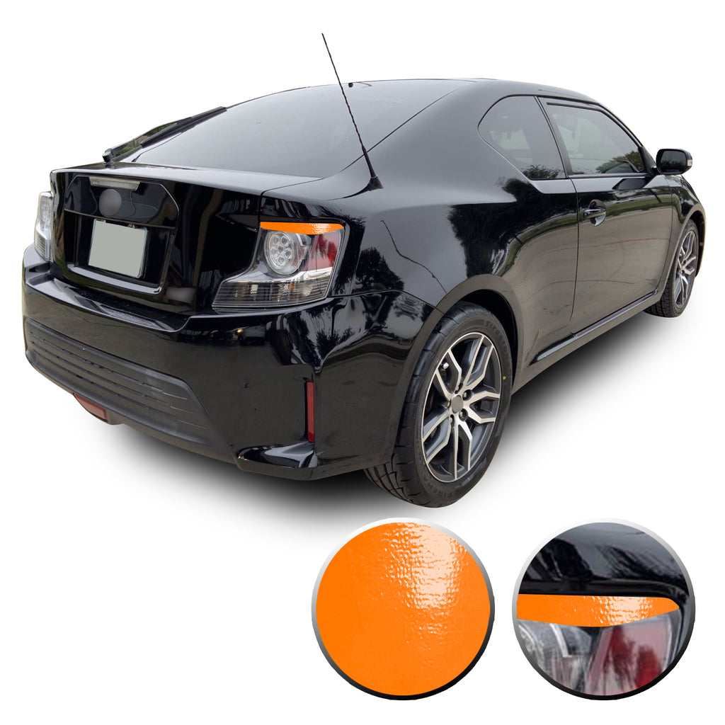 Tail Light Eyelid Eyebrow Overlay Vinyl Decal Compatible with Scion tC 2014-2016