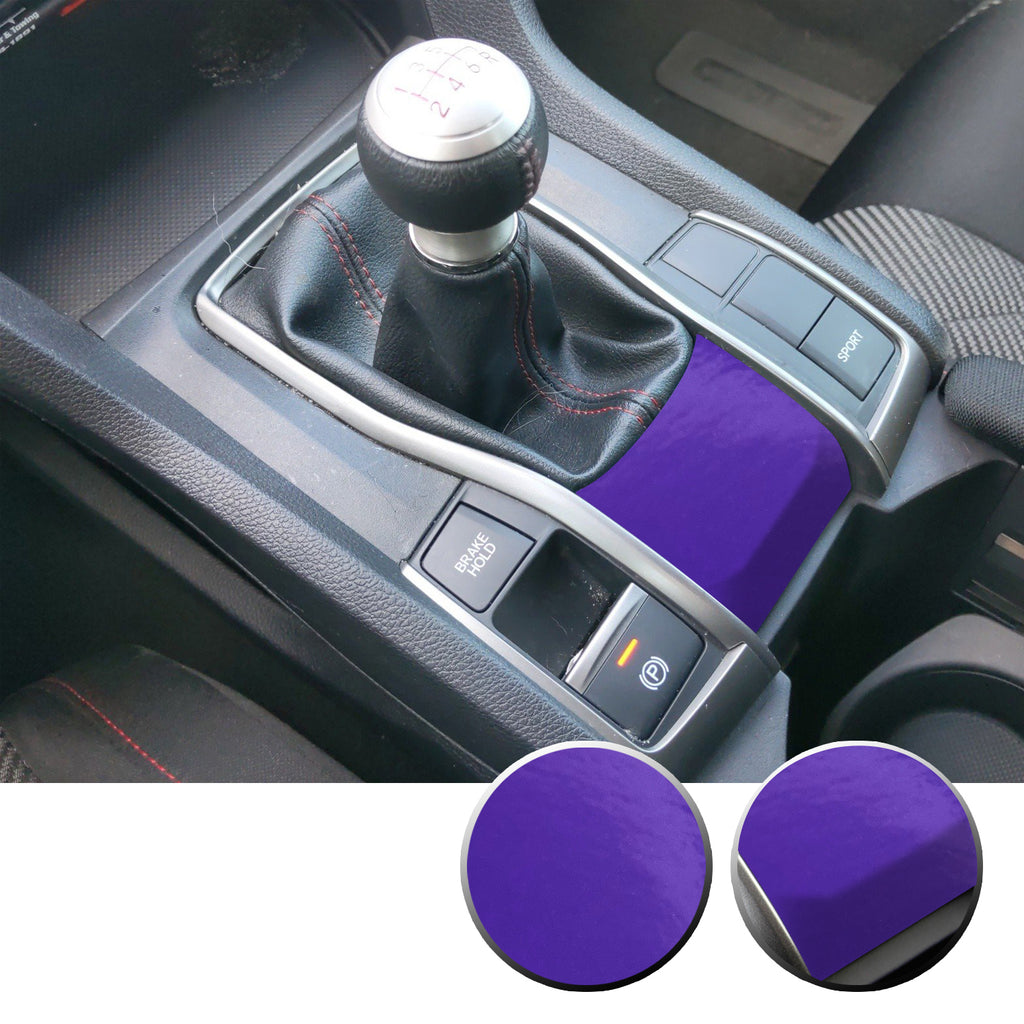 Manual Transmission Lower Panel Vinyl Decal Accent Overlay Compatible with Honda Civic 2016-2020