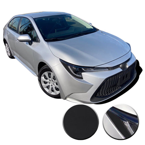 Headlight Amber Delete Accent Overlay Pre Cut Vinyl Decal Compatible with Toyota Corolla 2019 2020 2021